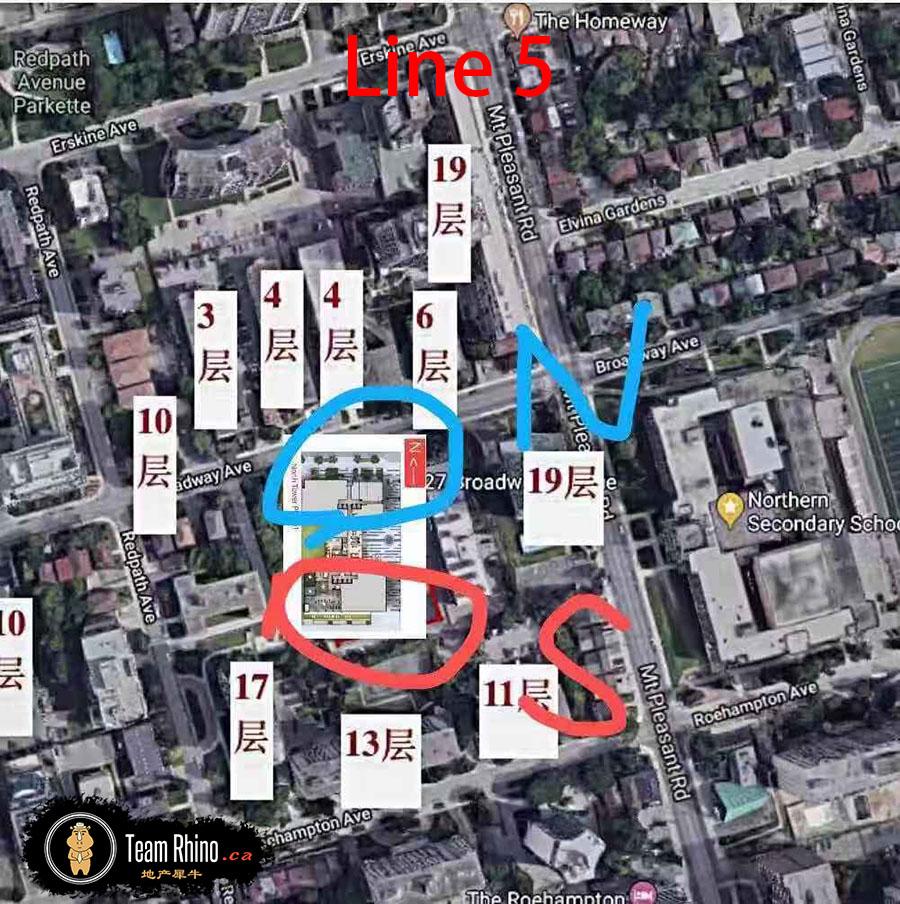 Line5 Position 多伦多地产犀牛