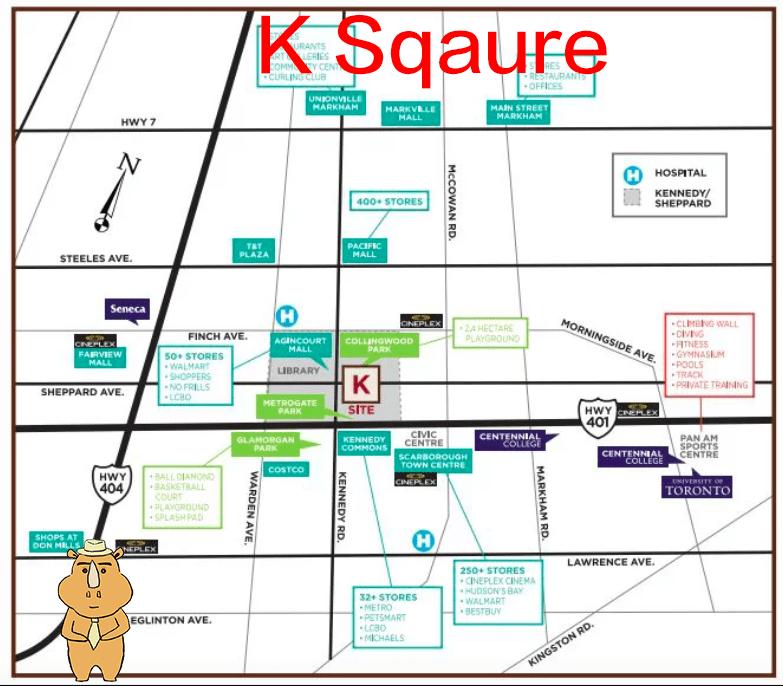 KSquare Location 多伦多地产犀牛