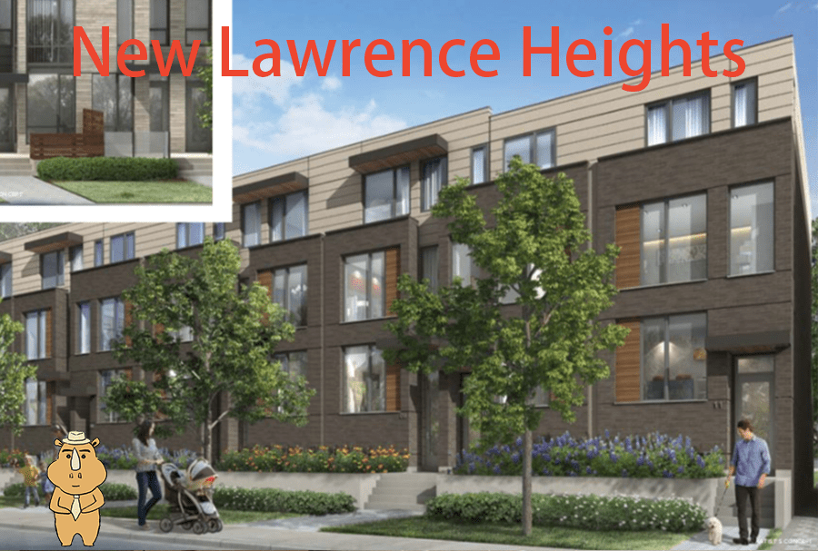 NewLawrenceHeights Building 多伦多地产犀牛