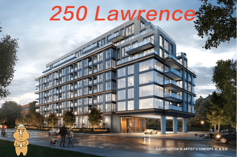 250Lawrence front 多伦多地产犀牛