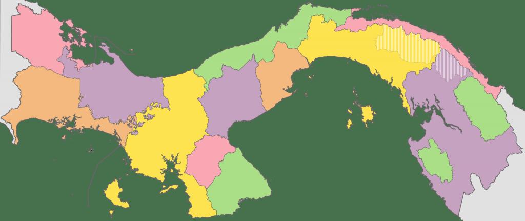 Panama map 多伦多地产犀牛