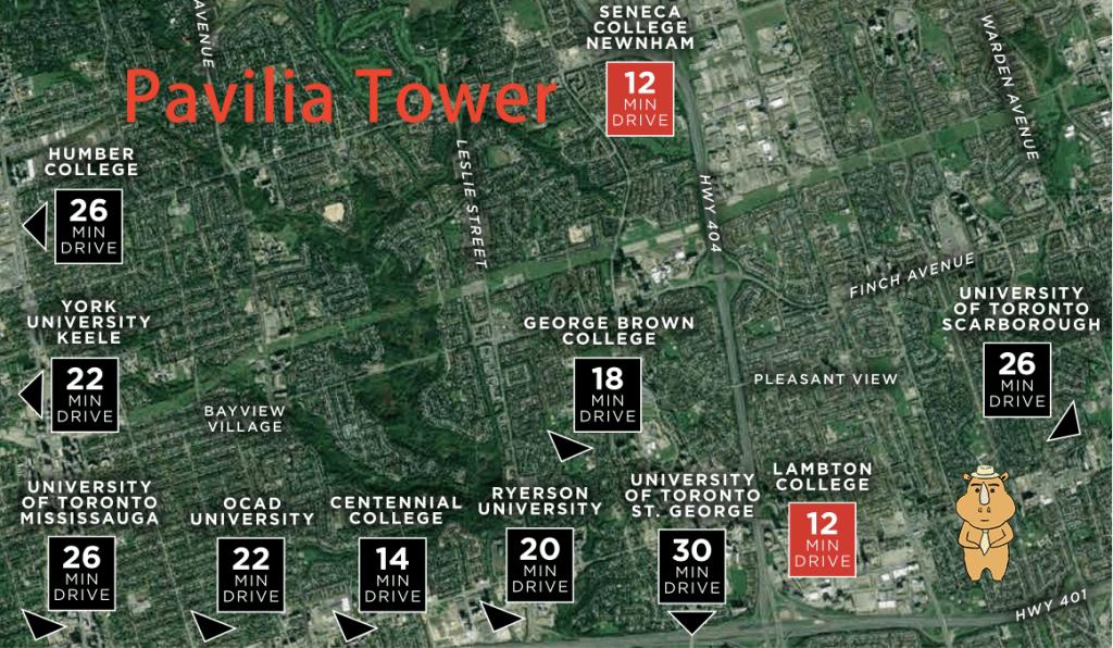 Pavilia Tower