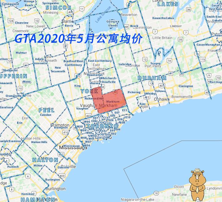 GTA Condo 202005 多伦多地产犀牛