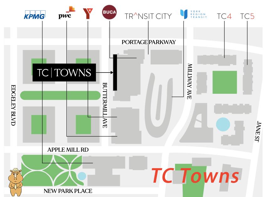 TCTown location 多伦多地产犀牛
