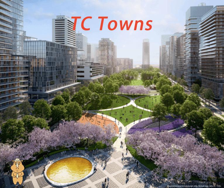 TCTown park 多伦多地产犀牛