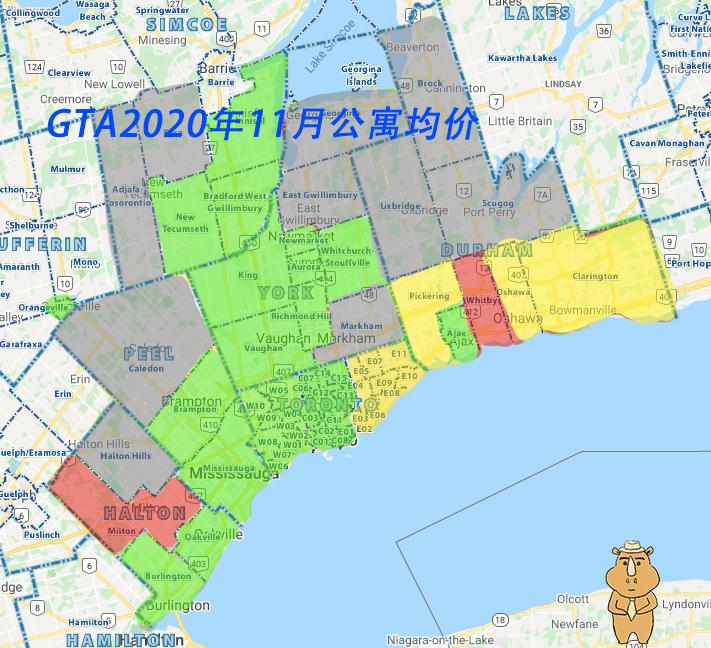 202011地产报告 GTA Condos 多伦多地产犀牛