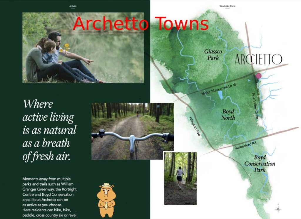Archetto location 多伦多地产犀牛