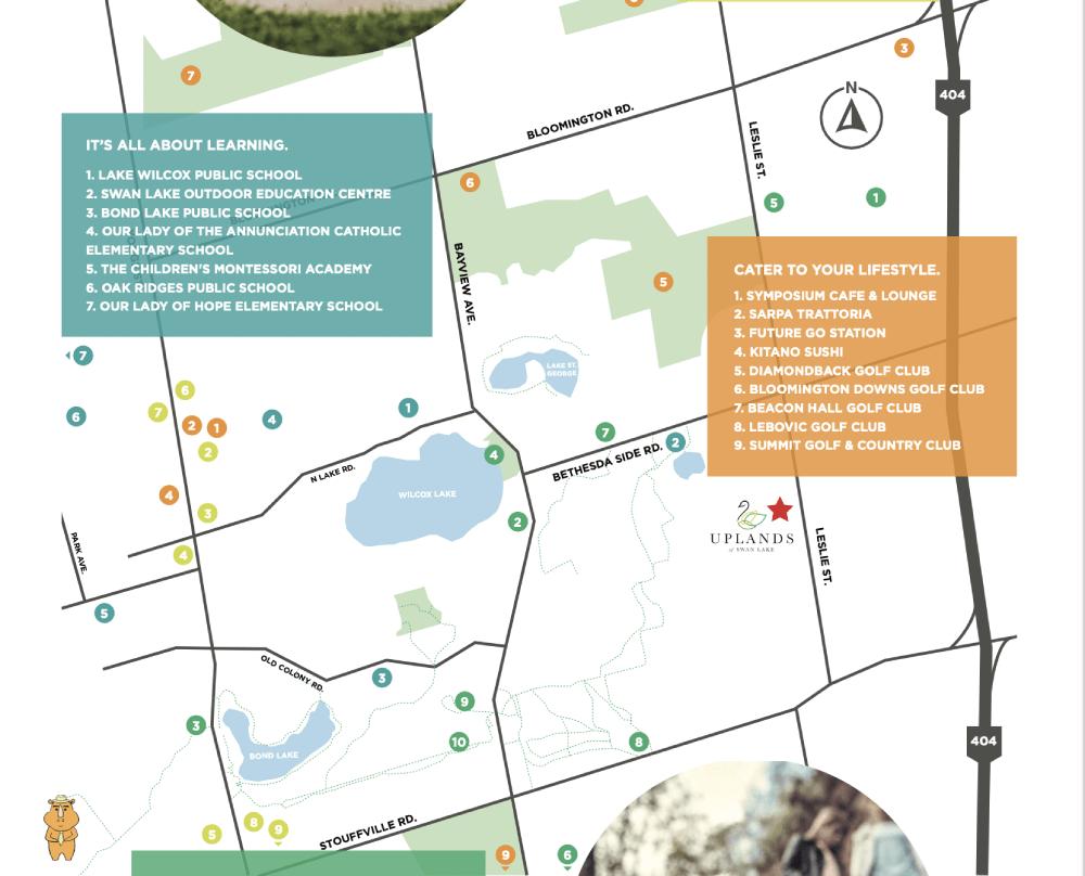 Uplands map 多伦多地产犀牛