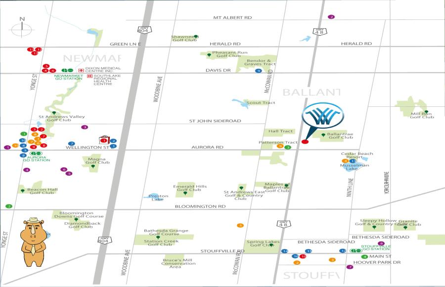 Wedgewood map 多伦多地产犀牛