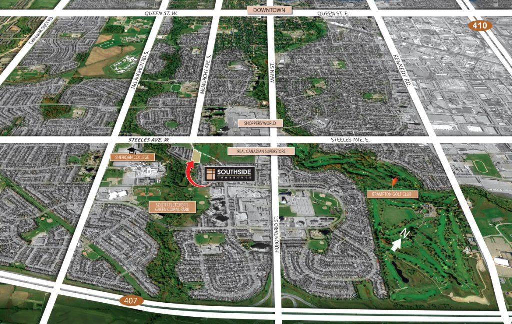 location map 多伦多地产犀牛