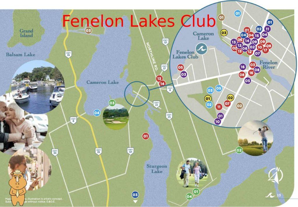 Fenelon map 多伦多地产犀牛