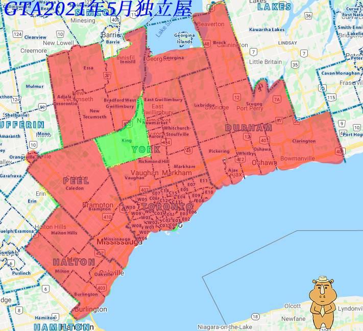 202105地产报告 GTA Detached 多伦多地产犀牛