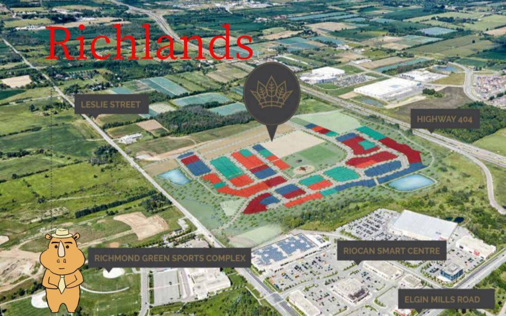 Richlands Map 多伦多地产犀牛