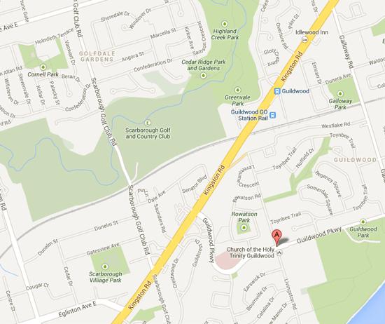 Sir Wilfrid Laurier Collegiate Institute-map
