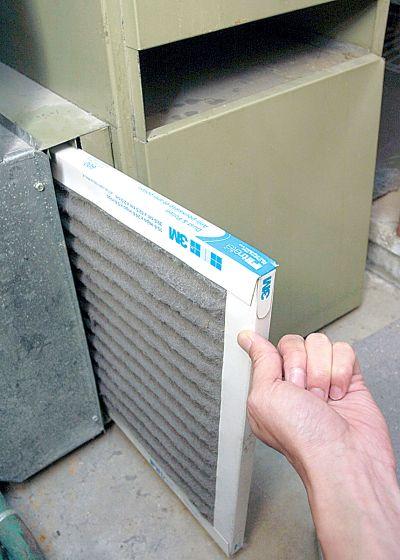 换空调滤网