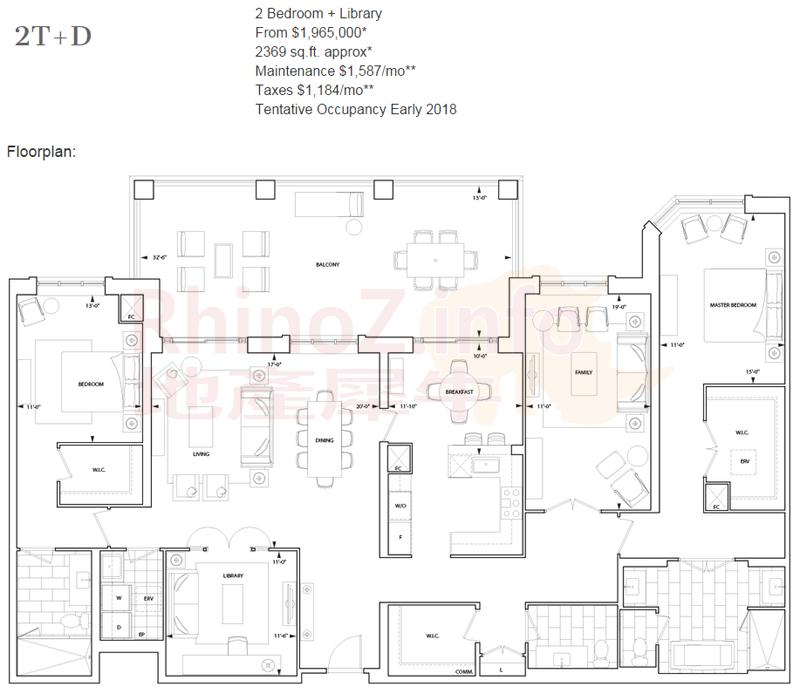 FloorPlan-2T+D