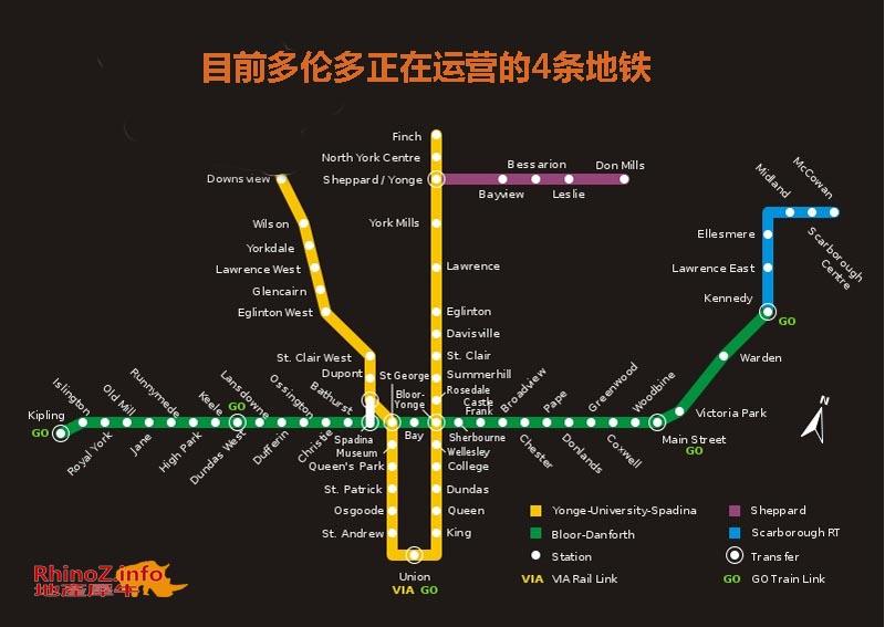 Toronto-Subway-now