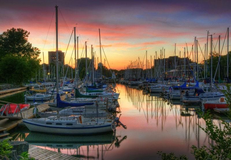 oakville-harbour-sunset