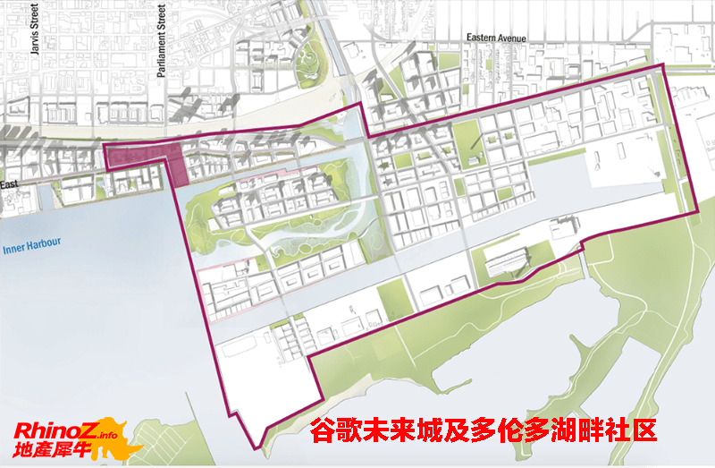 Quayside EasternWaterfront 多伦多地产犀牛