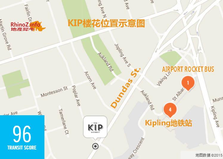 KIP location 多伦多地产犀牛