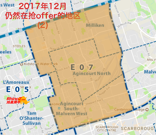 2017年12月仍然在抢offer的地区 2 多伦多地产犀牛