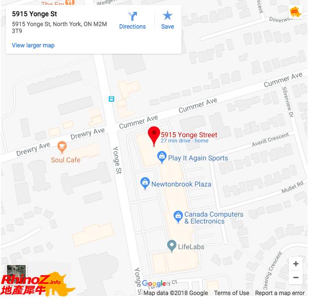 m2m address 多伦多地产犀牛
