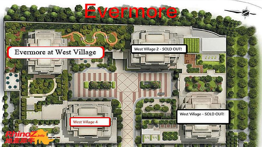 Evermore Siteplan 多伦多地产犀牛
