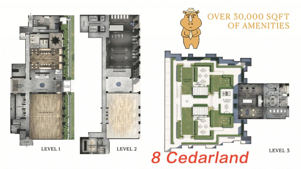 8Cedarland Amenities 1 多伦多地产犀牛