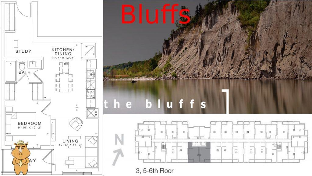 Bluffs FloorplanBluffs 多伦多地产犀牛