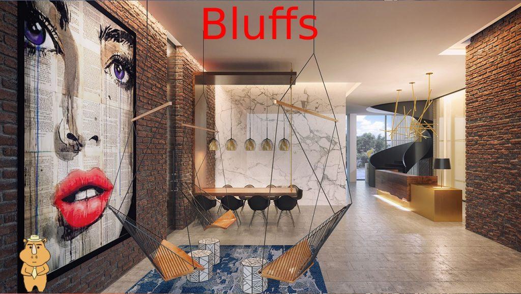 Bluffs Lobby 多伦多地产犀牛