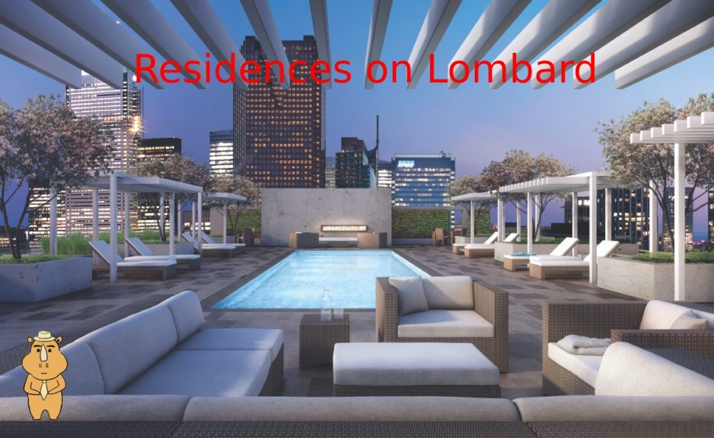 Residences on Lombard pool 多伦多地产犀牛