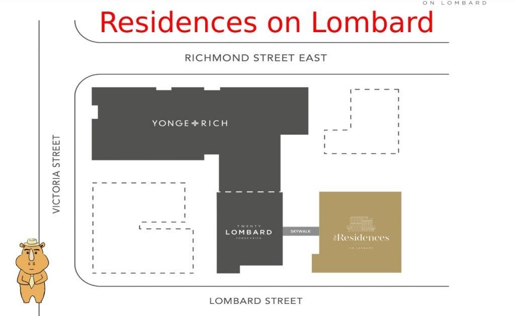 Residences on Lombard sitemap 多伦多地产犀牛